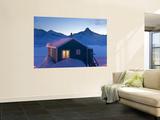 House at Dusk  Tasiilaq  East Greenland