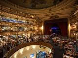 Interiors of a Bookstore  El Ateneo  Avenida Santa Fe  Buenos Aires  Argentina