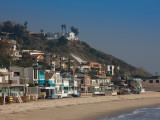 Houses at the Waterfront  Malibu  Los Angeles County  California  USA
