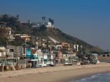 Houses at the Waterfront  Malibu  Los Angeles County  California  USA