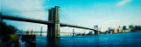 Bridge Across a River  Brooklyn Bridge  East River  Brooklyn  New York City  New York State  USA