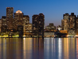 Buildings at the Waterfront  Boston  Massachusetts  USA