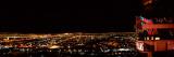 Hotel Lit Up at Night  Palms Casino Resort  Las Vegas  Nevada  USA 2010