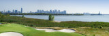 Liberty National Golf Club with Lower Manhattan And Statue of Liberty in the Background