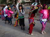 Children Performing in a Carnival  Tilcara  Quebrada De Humahuaca  Argentina