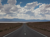 Road Leading Towards a Salt Flat  RN 52  Salinas Grandes  Jujuy Province  Argentina