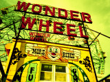 Entrance to the Wonder Wheel  Coney Island  Brooklyn  New York City  New York State  USA