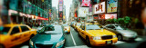 Traffic on a Road  Times Square  Manhattan  New York City  New York State  USA