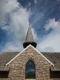 Low Angle View of a Chapel  Villa Catedral  San Carlos De Bariloche  Rio Negro Province  Patagonia