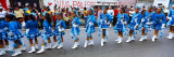 Girls Performing in Carnival  Carupano  Sucre State  Venezuela