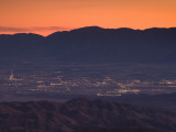 Coachella Valley And Palm Springs From Key's View  Joshua Tree National Park  California  USA