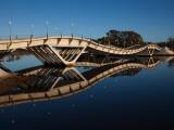 Bridge Across a River  Leonel Viera Bridge  La Barra  Punta Del Este  Maldonado  Uruguay