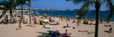 Tourists on the Beach  Plage De La Croisette  Cannes  Alpes-Maritimes  Provence-Alpes-Cote D&#39;Azur