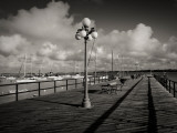 Lamppost on the Jetty  Colonia Del Sacramento  Uruguay