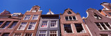 Low Angle View of Historic Buildings  Amsterdam  North Holland  Netherlands