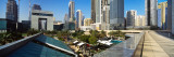 Skyscrapers in a City  Dubai  United Arab Emirates