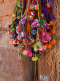 Multi-Colored Hangings on Wall  Tulmas  Purmamarca  Quebrada De Humahuaca  Argentina
