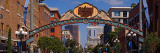 Buildings in a City  Gaslamp Quarter  San Diego  California  USA