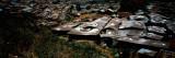 High Angle View of Huts in a Shanty Town  Kibera  Nairobi  Kenya