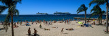 Tourists on the Beach  Cannes  Alpes-Maritimes  Provence-Alpes-Cote D&#39;Azur  France