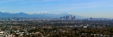 City with Mountains in the Background  Los Angeles  California  USA 2010