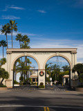 Entrance Gate to a Studio  Paramount Studios  Melrose Avenue  Hollywood  Los Angeles  California
