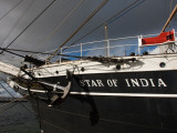 Maritime Museum on a Ship  Star of India  San Diego  California  USA