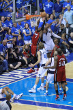 Miami Heat v Dallas Mavericks - Game Four  Dallas  TX -June 7: Dwyane Wade  Shawn Marion  Dirk Nowi