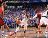 Miami Heat v Dallas Mavericks - Game Three  Dallas  TX -June 5: Jason Terry and Dwyane Wade