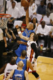 Dallas Mavericks v Miami Heat -Game Six  Miami  FL - June 12: Shawn Marion and Mike Miller