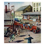&quot;Small Town Fire Company &quot; May 14  1949