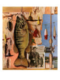 """Fishing Still Life "" June 29  1946"