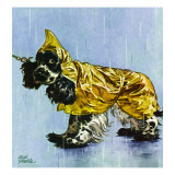 """Butch in Raingear "" April 2  1949"