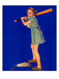 """Girl at Bat "" August 10  1940"