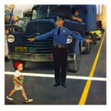 """Traffic Cop "" September 3  1949"