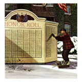 &quot;Honoring the Dead &quot; December 4  1943