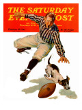 """Dog on the Field "" Saturday Evening Post Cover  October 18  1941"