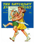 """Spring Pageant "" Saturday Evening Post Cover  April 12  1941"