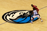 Miami Heat v Dallas Mavericks - Game Four  Dallas  TX -June 7: LeBron James and DeShawn Stevenson