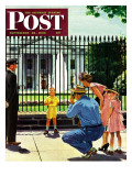 """Future President "" Saturday Evening Post Cover  September 25  1948"