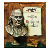 """Benjamin Franklin  bust "" January 21  1961"