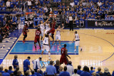 Miami Heat v Dallas Mavericks - Game Four  Dallas  TX -June 7: Chris Bosh and Dirk Nowitzki