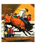"""Bull Riding "" July 21  1945"