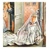 """""""Wedding Dress-Up """" June 1  1946"""