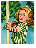 &quot;Woman Archer &quot; July 22  1944