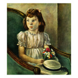 """Portrait of Little Girl "" May 5  1945"