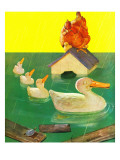 &quot;Ducks in a Flood &quot; April 5  1941