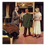 """Choosing a New Suit "" November 20  1948"