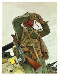"""""""Tank Patrol """" November 6  1943"""