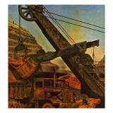 """""""Mining for Ore """" November 22  1947"""